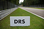 September 4-7, 2014 : Italian Formula One Grand Prix - DRS sign board