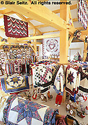 Quilt and crafts showroom, Amish farm, Lancaster Co., PA