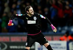 Danny Ward of Huddersfield Town celebrates at full time - Mandatory by-line: Matt McNulty/JMP - 10/12/2016 - FOOTBALL - The John Smith's Stadium - Huddersfield, England - Huddersfield Town v Bristol City - Sky Bet Championship