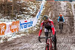 Karl Heinz Gollinger (AUT), Men Elite, Cyclo-cross World Championship Tabor, Czech Republic, 1 February 2015, Photo by Pim Nijland / PelotonPhotos.com