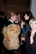 ASSIA WEBSTER; JASMINE GUINNESS, THE LAUNCH OF THE KRUG HAPPINESS EXHIBITION AT THE ROYAL ACADEMY, London. 12 December 2011.