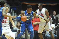 "Kentucky's Nerlens Noel (3) vs. Ole Miss' Reginald Buckner (23) at the C.M. ""Tad"" Smith Coliseum on Tuesday, January 29, 2013.  (AP Photo/Oxford Eagle, Bruce Newman).."