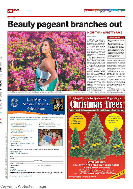 Published Newspaper photography PDF's. Photography by Top of the South Photography
