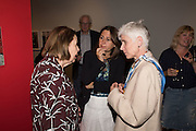 DRUISILLA DREYFUS; ALEXANDRA SHULMAN; HARRIET WILSON, Preview of Terence Donovan: Speed of Light, Photographers Gallery, Ramillies Place, Thursday 14 July 2016,