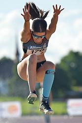 06/08/2017; Brown, Larissa, T12, CAN at 2017 World Para Athletics Junior Championships, Nottwil, Switzerland