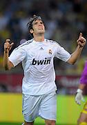 Fussball   International     Freundschaftsspiel     Borussia Dortmund - Real Madrid     19.08.09 KAKA (Madrid) jubelt nach seinem Tor zum 5-0.