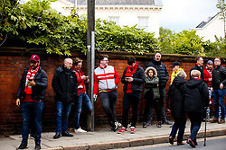 Liverpool fans arrive at Anfield - Mandatory by-line: Robbie Stephenson/JMP - 07/05/2019 - FOOTBALL - Anfield - Liverpool, England - Liverpool v Barcelona - UEFA Champions League Semi-Final 2nd Leg