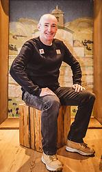22.01.2020, Kitzbühel, AUT, FIS Weltcup Ski Alpin, Pressekonferenz ÖSV, im Bild Andreas Puelacher (Sportlicher Leiter ÖSV Ski Alpin Herren) // Andreas Puelacher Austrian Ski Association head Coach alpine Men's during Pressconference of Team Austria before the men's Downhill of FIS Ski Alpine World Cup in Kitzbühel, Austria on 2020/01/22. EXPA Pictures © 2020, PhotoCredit: EXPA/ Johann Groder