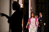 """Desfile de moda organizado por Fundacodise, institución donde se atienden más de 50 muchachos y muchachas con discapacidad intelectual y múltiple. Este desfile fue realizado en el Hotel Eurobuilding con modelos """"especiales"""", con trajes hechos a su medida por los diseñadores venezolanos más importantes, entre quienes están Carolina Herrera, Ángel Sánchez, Durant & Diego, Hugo Espina, Pavel Mieses, Alberto de Castro, Gionni Straccia, Georgia Reyes, Argimiro Palencia, Hajsky Bueno, Luis Perdomo, Raenrra, Carlos Benguigui, Alejandro Faccini, Carlos Vimont, Edgardo Mendoza, Isabel Mideros, Carlos Ferrara y Valentina Cedeño. Caracas, 03 junio, 2009. (ivan gonzalez)"""
