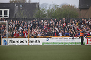 Dundee fans - Alloa Athletic v Dundee, SPFL Championship at Recreation Park, Alloa<br /> <br />  - &copy; David Young - www.davidyoungphoto.co.uk - email: davidyoungphoto@gmail.com