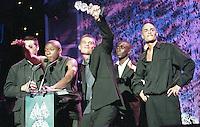 at the Mobo Awards 1998 at the Royal Albert Hall London, Monday Oct 5, 1998 (AP Photo/John Marshall JME)