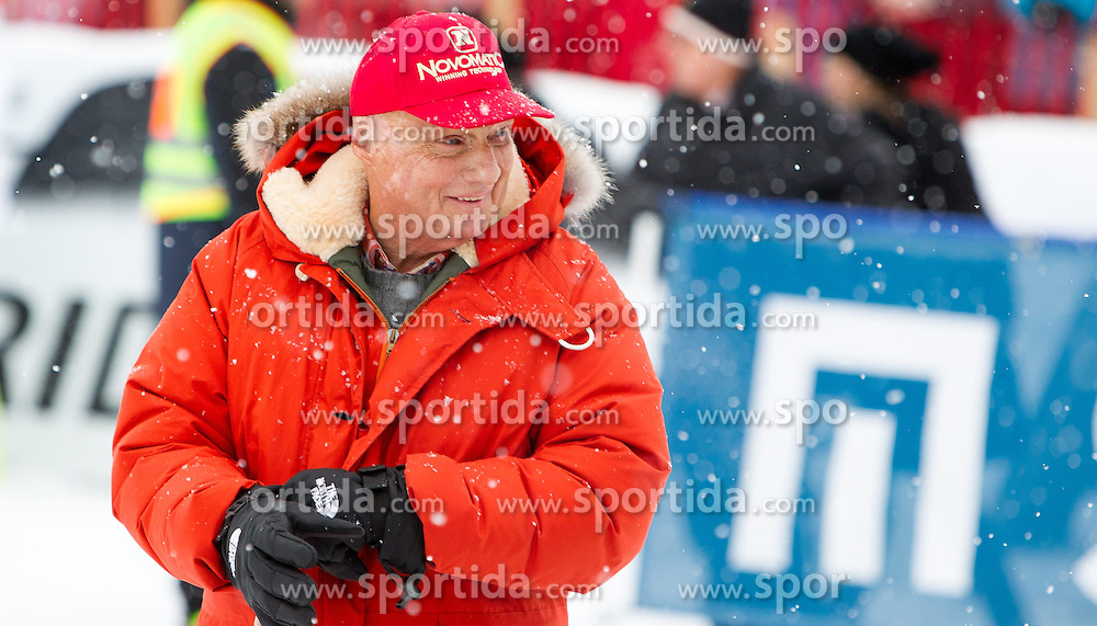 24.01.2015, Streif, Kitzbühel, AUT, FIS Weltcup Ski Alpin, Kitzbuehel, Kitz Charity Race, im Bild Niki Lauda // during Kitz Charity Race of Kitzbuehel FIS Ski Alpine World Cup at the Streif in Kitzbühel, Austria on 2015/01/24. EXPA Pictures © 2015, PhotoCredit: EXPA/ JFK