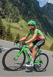 07.07.2017, St. Johann Alpendorf, AUT, Ö-Tour, Österreich Radrundfahrt 2017, 5. Kitzbühel - St. Johann/Alpendorf (212,5 km), im Bild Florian Gaugl (AUT, Hrinkow Advarics Cycleang) // Florian Gaugl (AUT, Hrinkow Advarics Cycleang) during the 5th stage from Kitzbuehel - St. Johann/Alpendorf (212,5 km) of 2017 Tour of Austria. St. Johann Alpendorf, Austria on 2017/07/07. EXPA Pictures © 2017, PhotoCredit: EXPA/ JFK