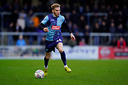 Jason McCarthy of Wycombe Wanderers in action during the EFL Sky Bet League 1 match between Wycombe Wanderers and Bristol Rovers at Adams Park, High Wycombe, England on 8 February 2020.