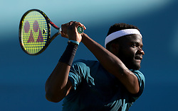 Frances Tiafoe during day five of the Fever-Tree Championship at the Queen's Club, London.