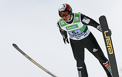 Jernej Damjan (SLO) at Flying Hill Team in 3rd day of 32nd World Cup Competition of FIS World Cup Ski Jumping Final in Planica, Slovenia, on March 21, 2009. (Photo by Vid Ponikvar / Sportida)