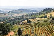 Italy, Tuscany, rural  landscape.