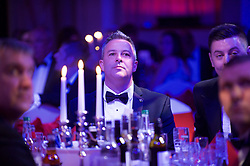 CARDIFF, WALES - Monday, October 5, 2015: Wales' xxxx during the FAW Awards Dinner at Cardiff City Hall. (Pic by Ian Cook/Propaganda)