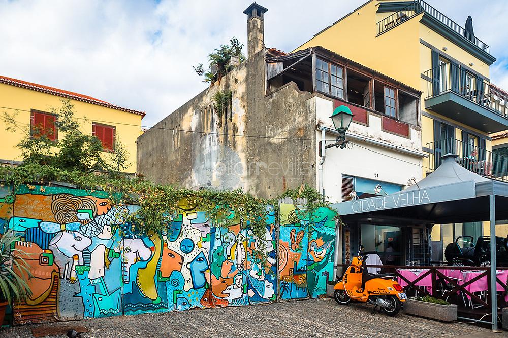 Graffiti at Funchal ©Javier Abad / PILAR REVILLA