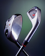 Golf clubs created for Tim Ohara photography.