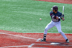 NORMAL, IL - April 08: Drew Millas during a college baseball game between the ISU Redbirds  and the Missouri State Bears on April 08 2019 at Duffy Bass Field in Normal, IL. (Photo by Alan Look)