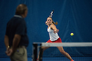 Gonzaga women's tennis vs. Loyola Marymount  April 8 at the Stevens Center. (Photo by Rajah Bose)