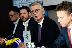Franjo Bobinac during press conference of Slovenian handball federation, Hotel Intercontinental, 17. December 2019, Ljubljana, Slovenia. Grega Valancic / Sportida