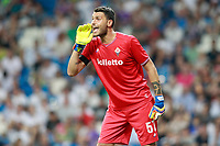 ACF Fiorentina's Marco Sportiello during Santiago Bernabeu Trophy. August 23,2017. (ALTERPHOTOS/Acero)
