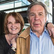 NLD/Amsterdam/20190418 - Boekpresentatie Patty Harpenau Het Land van Heimwee, Patty Harpenau  en Maarten Spanjer