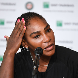 Serena Williams (USA) during Day 9 for the French Open 2018 on June 4, 2018 in Paris, France. (Photo by Anthony Dibon/Icon Sport)