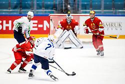 Klemen Pretnar of Slovenia during ice hockey match between Belarus and Slovenia at IIHF World Championship DIV. I Group A Kazakhstan 2019, on May 2, 2019 in Barys Arena, Nur-Sultan, Kazakhstan. Photo by Matic Klansek Velej / Sportida