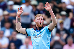 Ben Stokes of England cuts a frustrated figure - Mandatory by-line: Robbie Stephenson/JMP - 03/06/2019 - CRICKET - Trent Bridge - Nottingham, England - England v Pakistan - ICC Cricket World Cup 2019 Group Stage