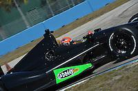 James Hinchcliffe, Sebring test, 2/19/2013