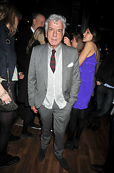 NICKY HASLAM at the opening of the Brompton Bar & Grill, 243 Brompton Road, London SW3 on 11th March 2009.