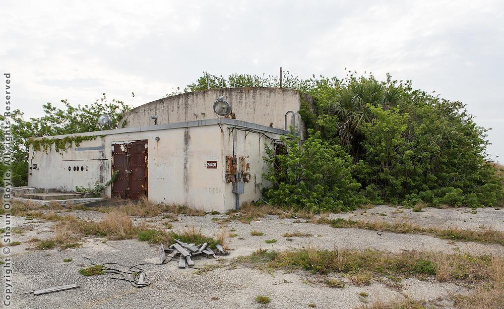 Blue Scout Blockhouse, Launch Complex 18, Cape Canaveral