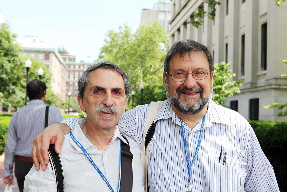 Ken Fox '66 (left).Gene Fierman '66.