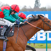 Edwyn Ralph and Jim Crowley winning the 2.00 race