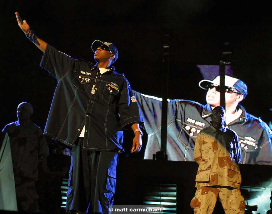 Jay-Z performs live in Concert at Chicago's Tweeter Center.
