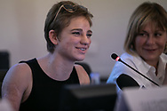 Bebe Vio a Palermo per un convegno sul ruolo delle donne nella sport professionistico.