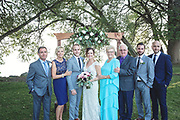 Beautiful Fall Bayshore Village Wedding