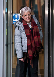 © Licensed to London News Pictures. 08/01/2018. London, UK. Former China editor for the BBC, CARRIE GRACIE  seen leaving BBC broadcasting House in London. CARRIE GRACIE resigned form her post as China editor and wrote an open letter to licence fee payers   in protest over unequal pay between men and women at the broadcasting corporation. Photo credit: Ben Cawthra/LNP