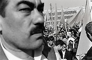 Opposition rally, Baku Azerbaijan 2003