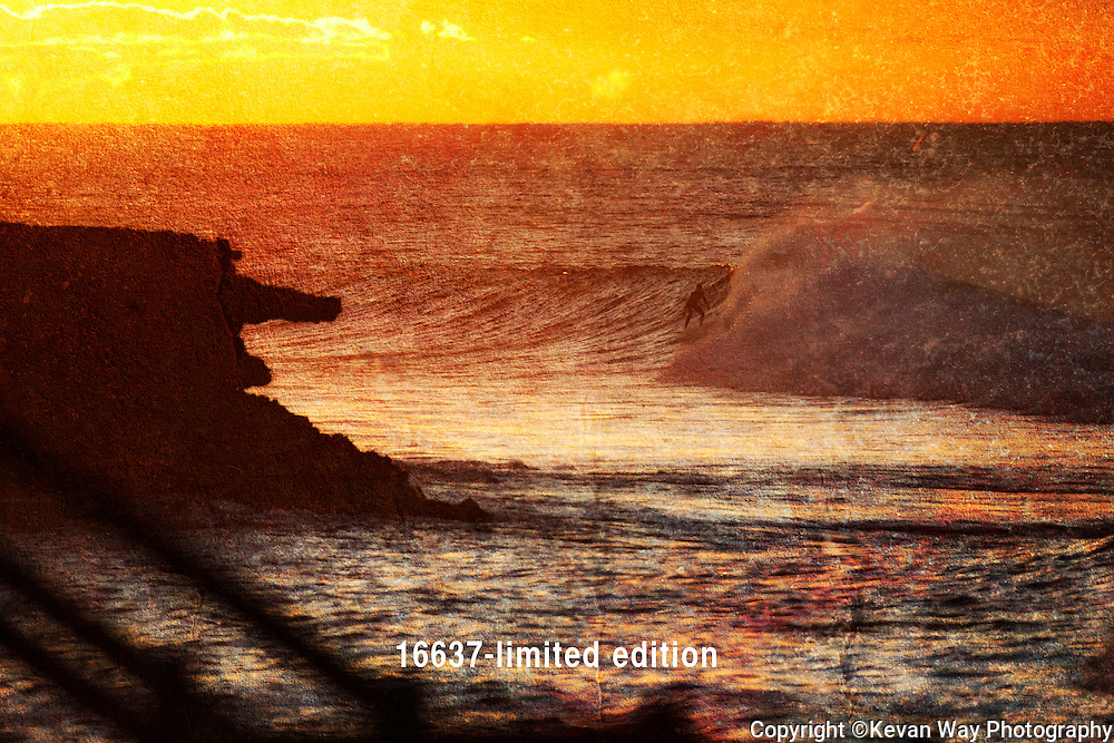 sunrise surfer<br /> (limited edition of 40)<br /> 1.5M x 1M
