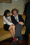 ROSEY CHAN AND MIKE FIGGIS, Party hosted by Christies for a private view of 'Naked Portrait with Reflection' by Lucian Freud. Automat, Berkeley St. London.17 June 2008. *** Local Caption *** -DO NOT ARCHIVE-© Copyright Photograph by Dafydd Jones. 248 Clapham Rd. London SW9 0PZ. Tel 0207 820 0771. www.dafjones.com.