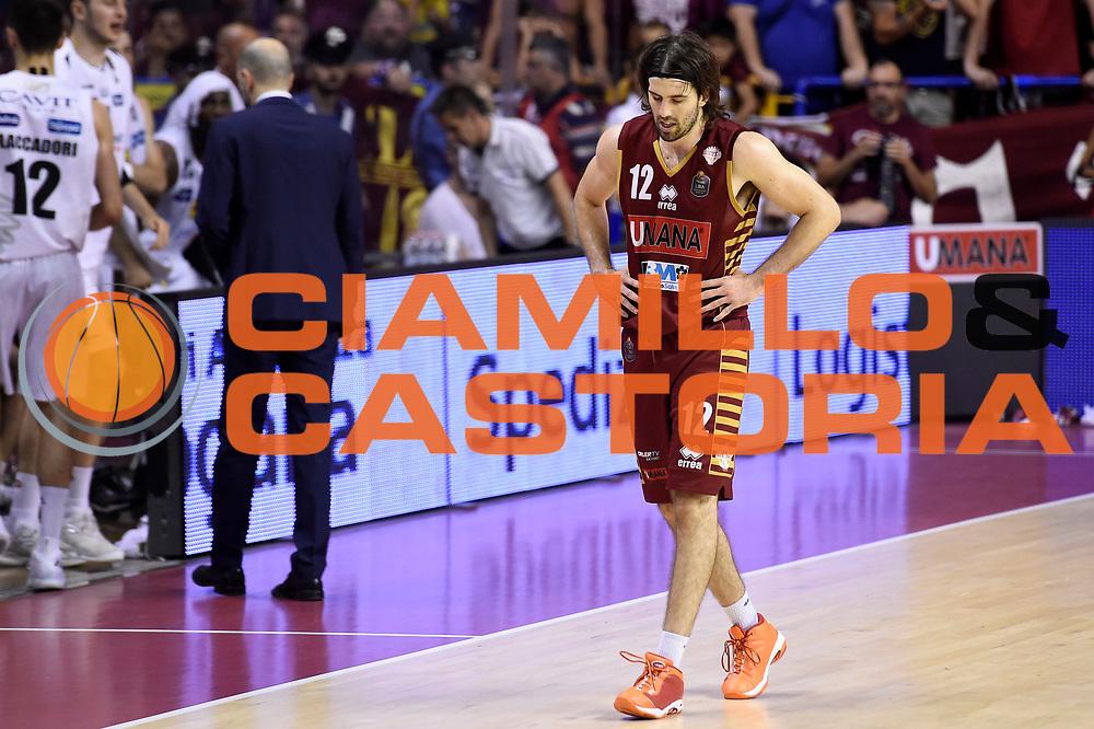 Ariel Filloy<br /> Umana Reyer Venezia - Dolomiti Energia Aquila Basket Trento<br /> Lega Basket Serie A 2016/2017<br /> Playoff, finale gara 5<br /> Venezia, 18/06/2017<br /> Foto M.Ceretti / Ciamillo-Castoria