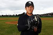 John Lee, New Zealand Baseball team headshots, portraits and team photo sesison. Howick-Pakuranga Baseball Grounds, Lloyd Elsmore Park, Auckland. 2 November 2012. Photo: William Booth/photosport.co.nz
