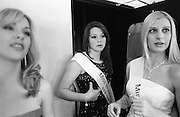 Backstage at The Miss Universe semi-finals in the outer west of Sydney.  2005.
