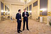 Anders Fogh Rasmussen op audiëntie bij de koning