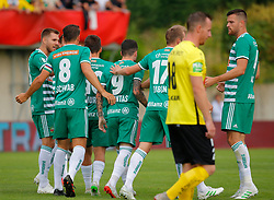 21.07.2019, Sportplatz, Allerheiligen bei Wildon, AUT, OeFB Uniqa Cup, USV Allerheiligen vs SK Rapid Wien, 1. Runde, im Bild Jubel bei Rapid // Celebrations of Rapid during the ÖFB Uniqa Cup, 1st round match between USV Allerheiligen and SK Rapid Wien at the Sportplatz in Allerheiligen bei Wildon, Austria on 2019/07/21. EXPA Pictures © 2019, PhotoCredit: EXPA/ Erwin Scheriau