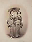 Two Yokohama Beauties 1860s